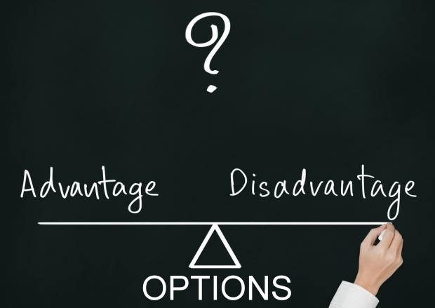 Advantages and Disadvantages of Trading in OPTIONS !!!